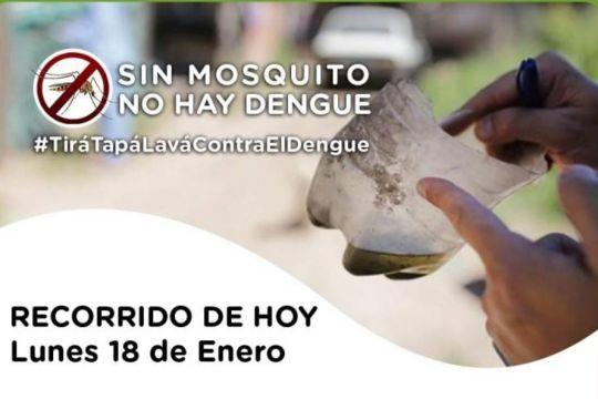 Descacharrado en Orán por el Dengue