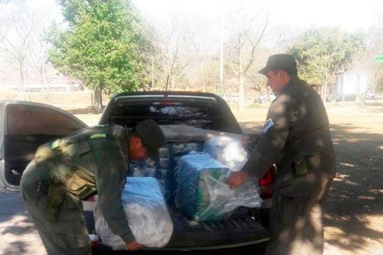 Decomisan 457 kilos de hojas coca