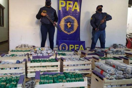 Incautaron un importante cargamento de hojas de coca en Pichanal