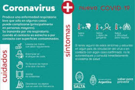 Salta: 46 casos sospechosos de coronavirus en la provincia