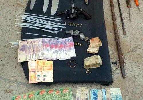 Detenidos por un robo a mano armada en Orán