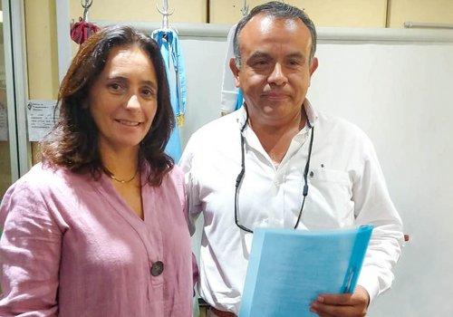 Nuevo Gerente en el Hospital de Orán