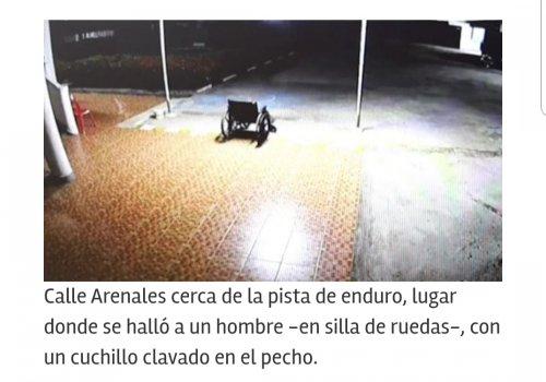 Oran Misterio: Discapacitado murió con un puñal clavado en el pecho