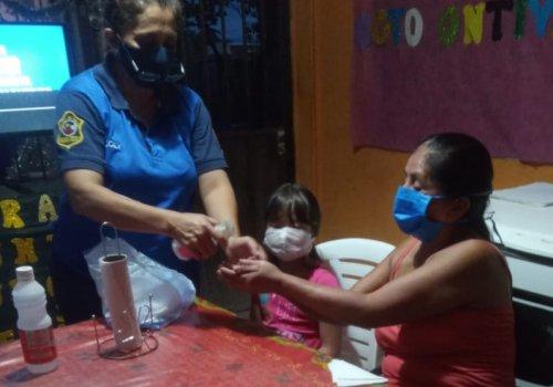 Vecinos de Orán reciben capacitación sobre seguridad sanitaria