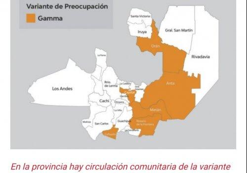 URGENTE:  Hay circulación comunitaria de la variante Manaos