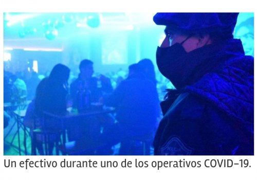 El 70 por ciento de las fiestas clandestinas se detectaron en Orán